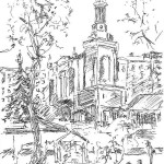 Kyiv Moghyla Academy, gel pen