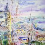 watercolor,Kyiv
