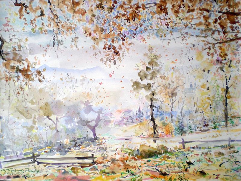 Осінь у Шаяні, Закарпаття/Fall Season in Shajan,Zakarpatty
