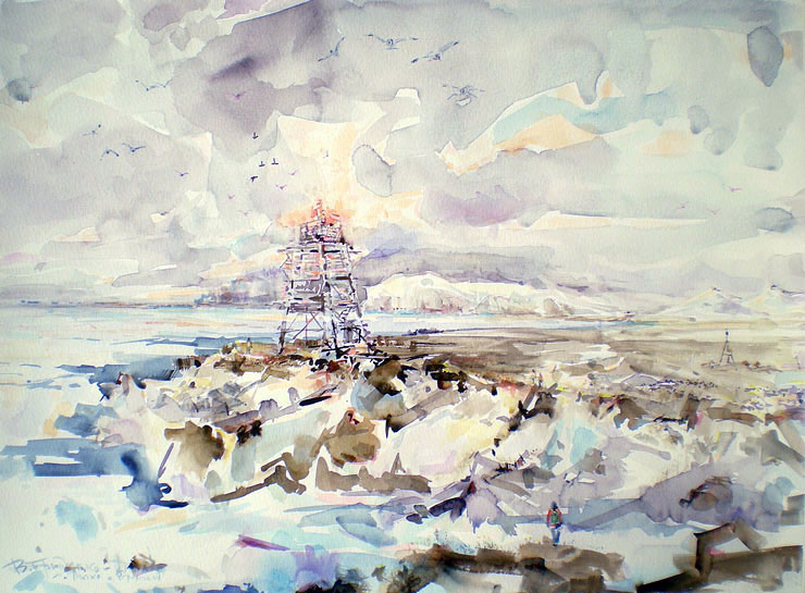 Litke Cape, Wrangel Isl